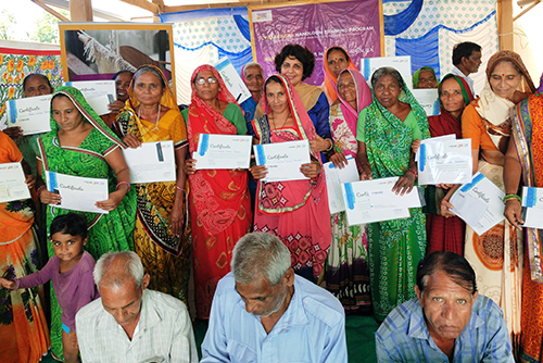 CybageAsha- Handloom Training Program Closing Ceremony