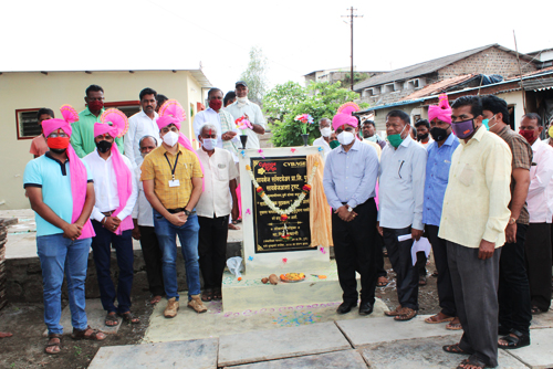 2020-10-06 Handover of CybageAashray Housing Project to flood-affected victims